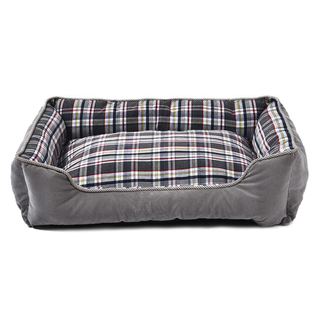 Check Large Pet Bed