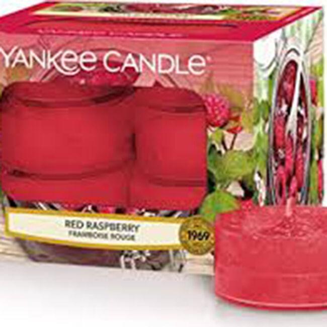 Yankee Candle Red Raspberry Tealights