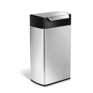 Simple Human Bin 40L - Stainless Steel