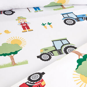 FARM DAY Junior Bed Fitted Sheet