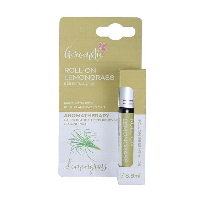 Aeromatic Roll On Lemongrass Essential Oil