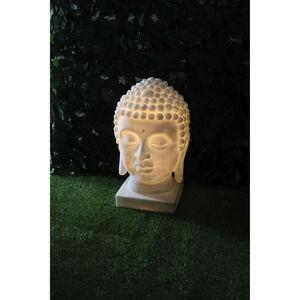 Solar Buddha Head Statue