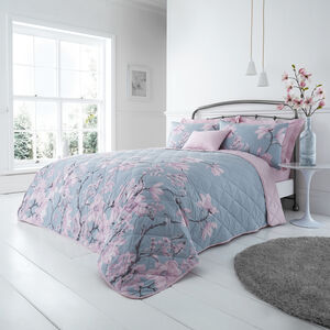 Arrabella Duck Egg Bedspread 200x220cm