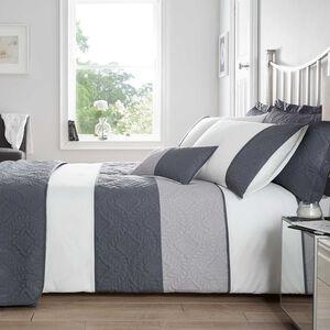 Maeve Duvet Set - Grey
