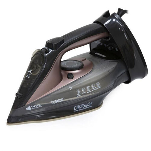 Tower Rose Gold 2-in-1 Cord & Cordless Iron