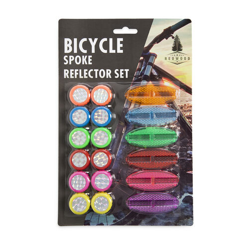 Bicycle Spoke Reflector Set