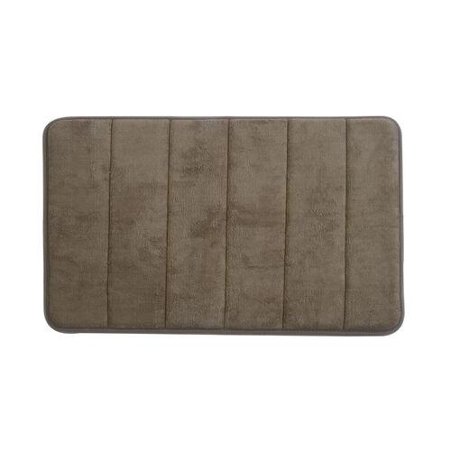 Memory Foam Bath Mat Mocha 40cm x 60cm