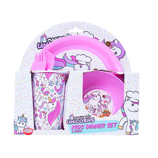 Unicorn Kids Dining Set