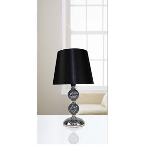 30cm Crackle Mosaic Ball Table Lamp