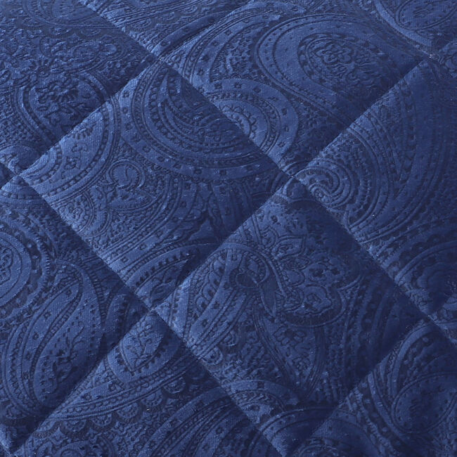 Allegra Pillowshams 50x75cm - Navy