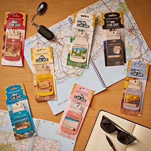 Yankee Candle Vanilla Cupcake Car Jars