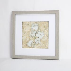 Full Bloom Framed Print 55x55cm