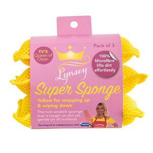 LQOC Super Sponge Yellow - 3 Pack