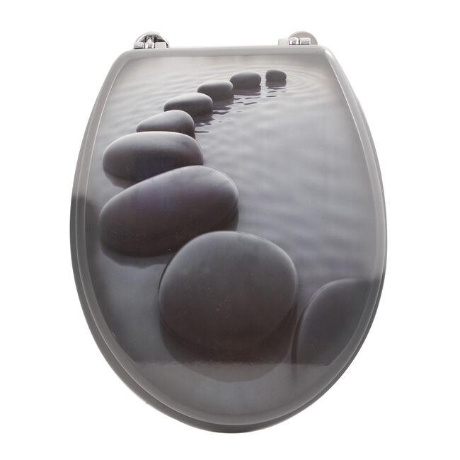 Stones Toilet Seat