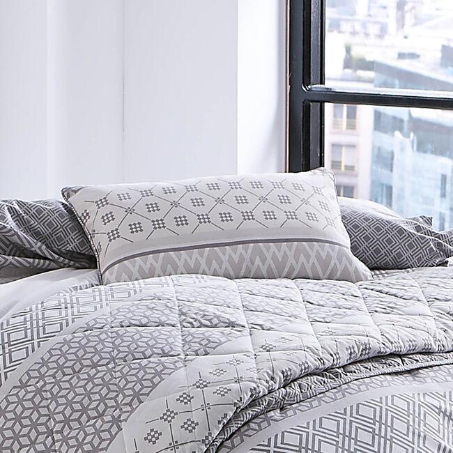 Hansel Stripe Grey Cushion 30cm x 50cm