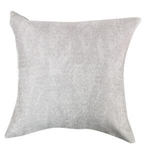 Lurex Chevron Cushion 45x45cm - Natural