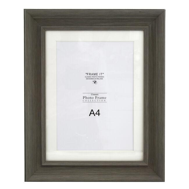 A4 Slate Grey Photo Frame