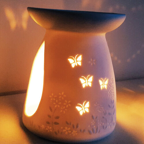 Butterfly Porcelain Melt Warmer