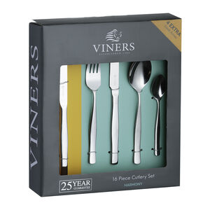 Viners Harmony Cutlery Set 16 Piece+4 Steak Knives