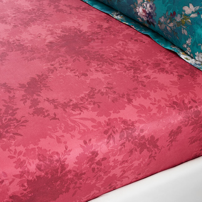 JULIA TEAL Single Fitted Sheet