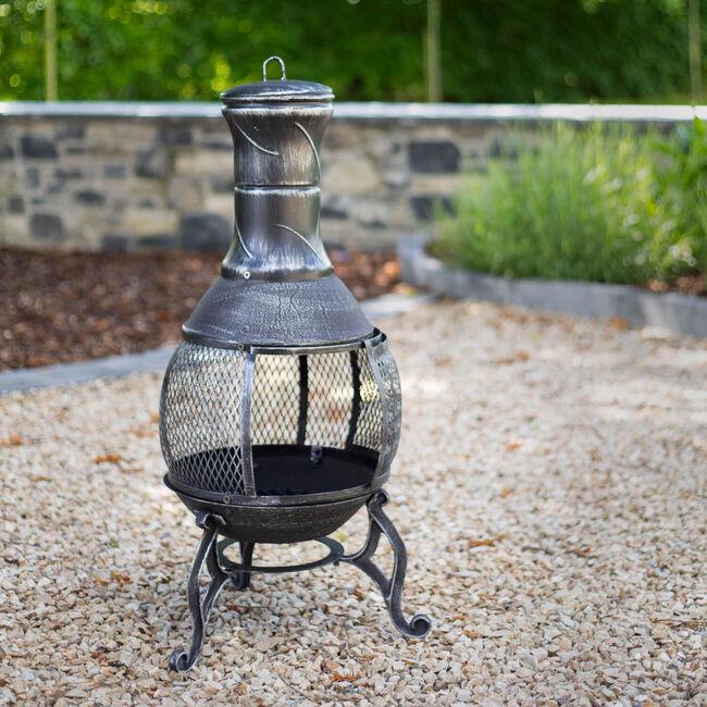 Outdoor Chimenea Cast Iron