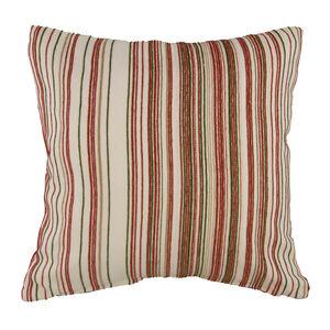 Martina Stripe Terracotta Cushion