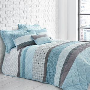 George Geo Duck Egg Bedspread 200cm x 220cm