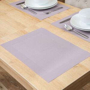 Oxford Border Mauve Placemat