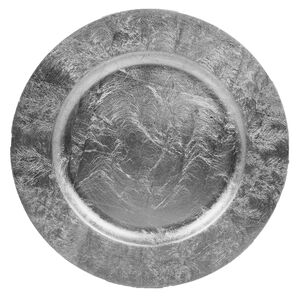 Luxe Charger Plate - Silver