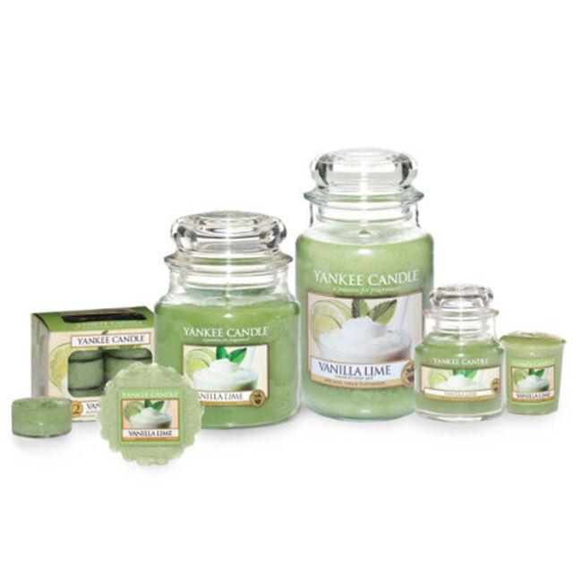 Yankee Candle Vanilla Lime Tea Lights