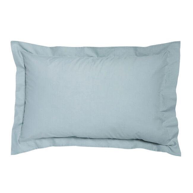 Percale Duck Egg Oxford Pillowcases
