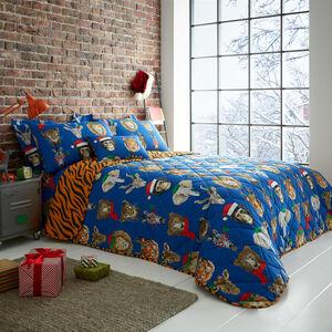Wild Christmas Bedspread 200 x 220cm