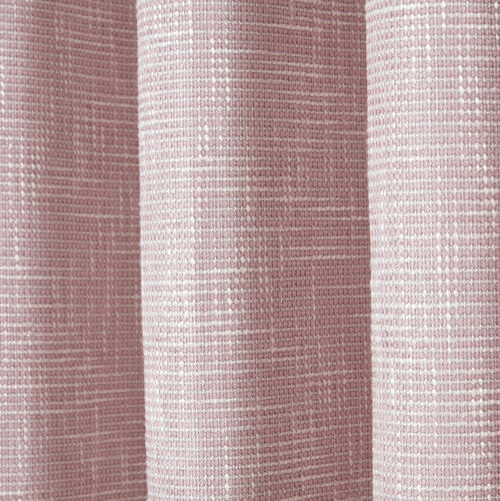 BLACKOUT & THERMAL BASKETWEAVE ROSE 66x72 Curtain