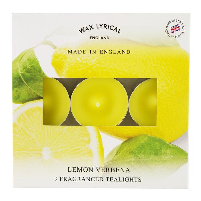 Lemon Verbena Box Of Tealights