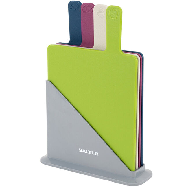 Salter 4pc Chopping Board Set