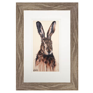 Hare Grey Frame 8 X 12 Home Store More