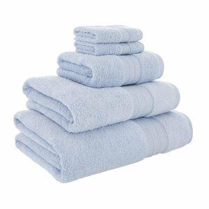 450GSM  ZERO TWIST CORNFLOWER 30*30 Face Towel 2pk