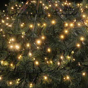 LED Cluster Christmas Lights - Warm White