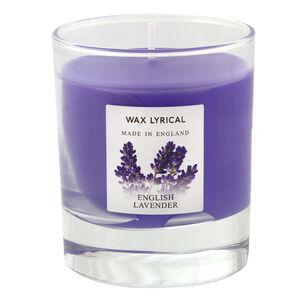 English Lavender glass Jar Candle