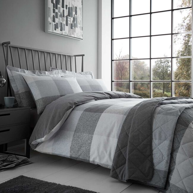 Brushed Cotton Simon Duvet Set
