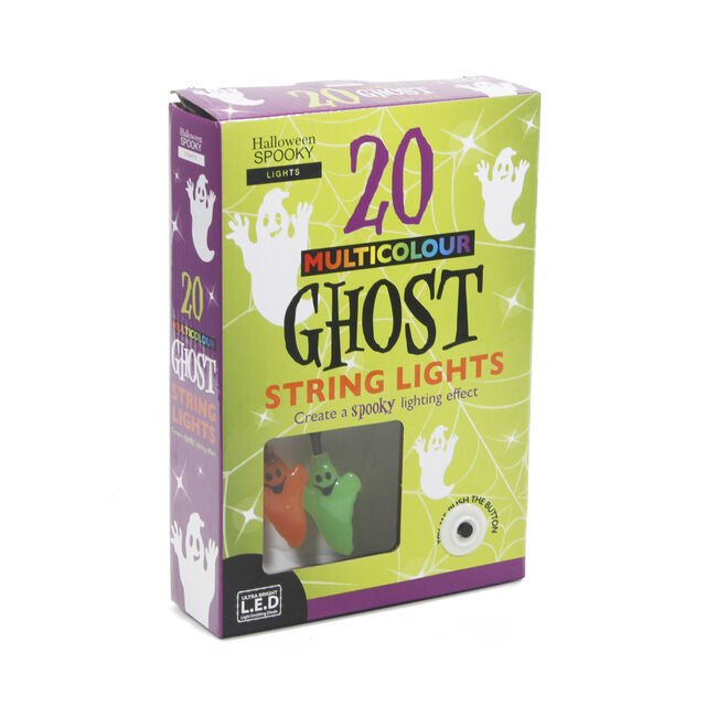 Halloween Ghost String Lights 20Pk