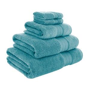 450GSM  ZERO TWIST AQUAMARINE 30*30 Face Towel 2pk