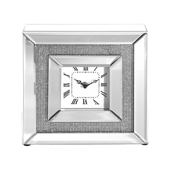Cashel Living Small Diamond Square Clock