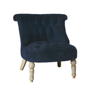 Josephine Navy Accent Chair