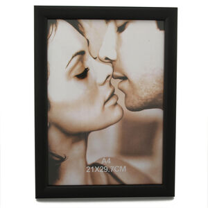 Black Ash Photo Frame A4