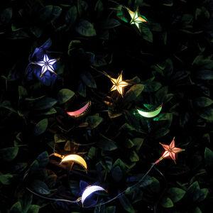 The Solar Moon and Star Light