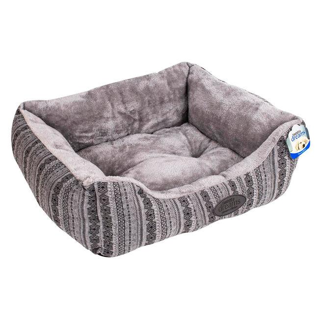 Premium Patterned Pet Bed - Large