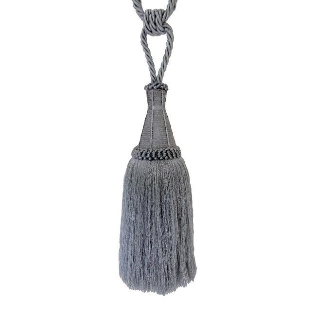 Elegance Large Silver Rope Tieback