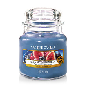 Yankee Candle Mulberry and Fig Delight Small Jar