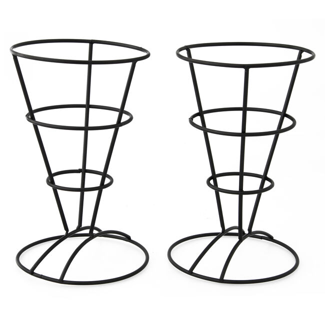 Wire French Fry Stands Set of 2